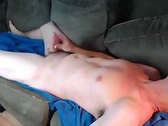 Explosive Couch Wank Angle 2