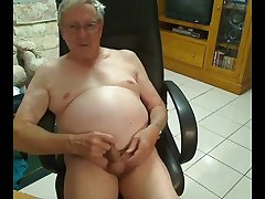 Old cum on cam 4