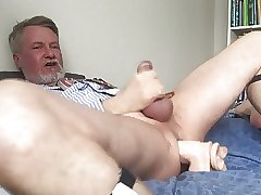 Fucking myself with my new Jeff Stryker dildo