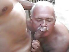 Four Daddies fucking