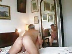 Two mature old men fucking