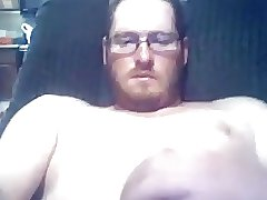 Hot redneck jerking off
