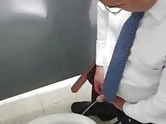 Caught - Daddy pissing 2