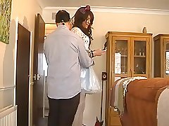 Guy swallows crossdressers cum