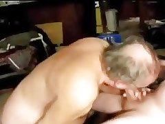 Gay old men sucking a other old men