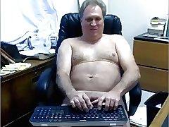 Maduro caliente en la webcam