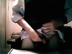Maduro bien caliente en la webcam