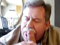 moustache daddy bear blowjob