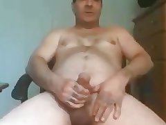 Tattoed fingers daddy shooting