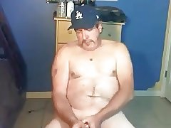 Daddy redneck  stroking and cuming twice