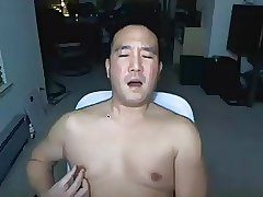 Asian Daddy on cam again