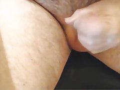 chubby daddy just playing with his cock