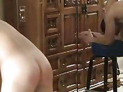 spanking the boy