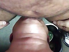 Silver Daddy sucking