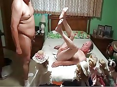 Young Chubby Fucks Older Guy
