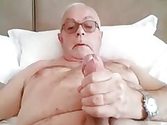 Mature male jerks off - no cum