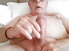 Mature male jerks off - no cum