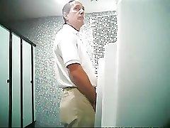Daddy in urinal V