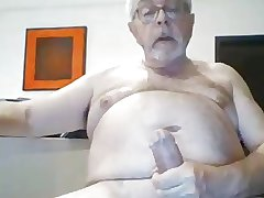 Mature male - Jerk session with cum