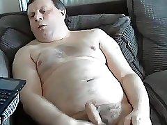 Stoky daddy wanking nice