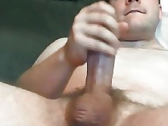 Sexy daddy with fat cock