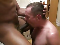 black muscle stud fucked by daddy's big cock pt2