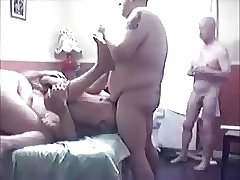 Five hot guys in a small room
