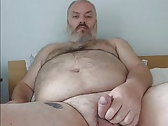 Hairy Bear Cums