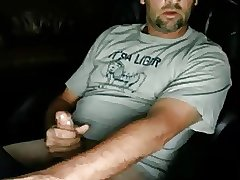 Hot daddy with huge cock