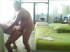 fat daddy fucks horny guy