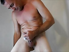 Soapy shower sample