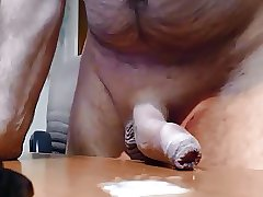 Hairy bear has a big cock