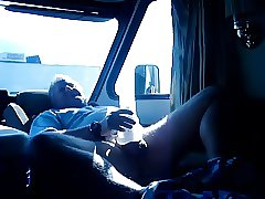 trucker stroke and cum