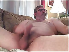 Dad's Ass Play and Cum