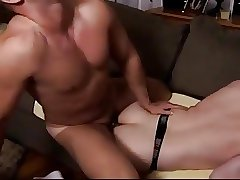 My married neighbor stops in and bareback fucks