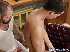 Barebacking mormon bear