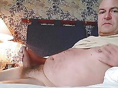 german daddy cum at hotel room