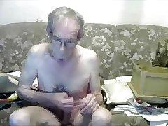 Big cock daddy evening jack off session (see description)