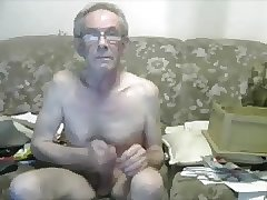 Big cock daddy evening jack off session (see description)
