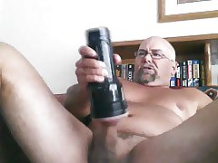 Fleshlight masturbation