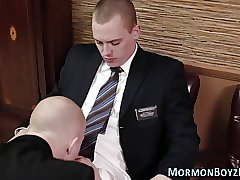 Gay mormon elder punished