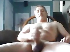 Very sexy daddy making a great show