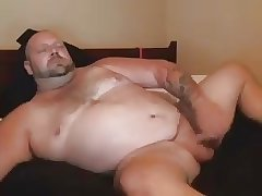 Beefy Bear Masturbation