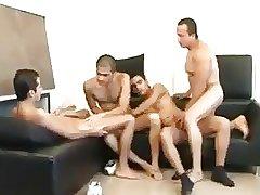 Latin Foursome Bareback