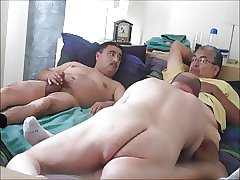 Married Latinos 3-Way With Me.  OralistDan Video 191.