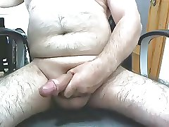 Mature male masturbating 3