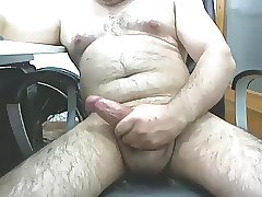 Mature male masturbating 2