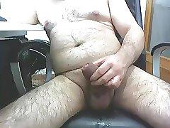Mature male masturbating 2