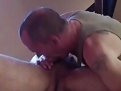 sucking massage client
