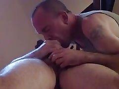 sucking massage client